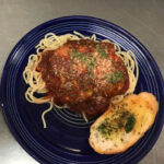 Try our chicken parmesean another of The Blue Plate daily specials.