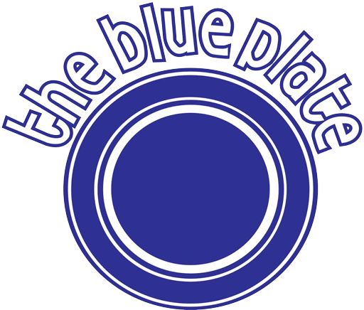 The Blue Plate logo